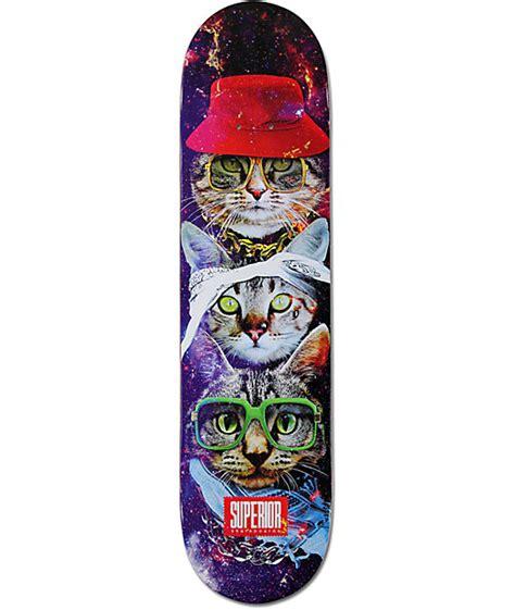 Zumiez Blank Skate Decks by Superior Cat Style 7 75 Quot Skateboard Deck Zumiez
