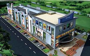 "Span Structures SHOPPING COMPLEX ""UDAY MALL"" AT GOMTI"