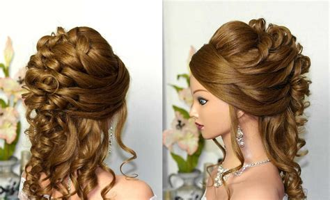 latest wedding updos  thick hair