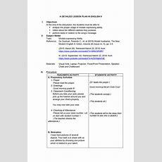 Modals  Lesson Plan For English 9  Educ Studocu