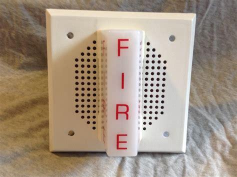 System Sensor Sp101w24m Fire Alarm Collection