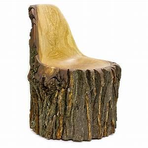 Droog Design Chair Log Type E Wooda