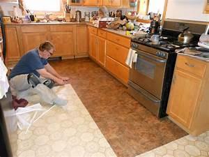 most durable kitchen flooring linoleum flooring kitchen With the best way to install kitchen tile floor