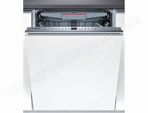 Lave Vaisselle Integrable Bosch : bosch smv46mx03e lave vaisselle tout integrable 60 cm ~ Melissatoandfro.com Idées de Décoration