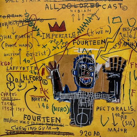 jean michel basquiat  artistic postcards
