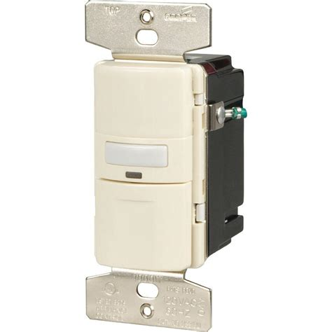 Eaton Way Occupancy Sensor Switch Light Almond Osu