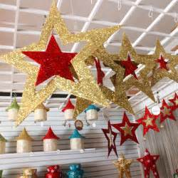 christmas ornaments shiny star xmas tree ceiling wall hanging decoration alex nld