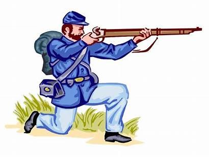 War Civil Animated Clipart Cartoon Soldier Tug