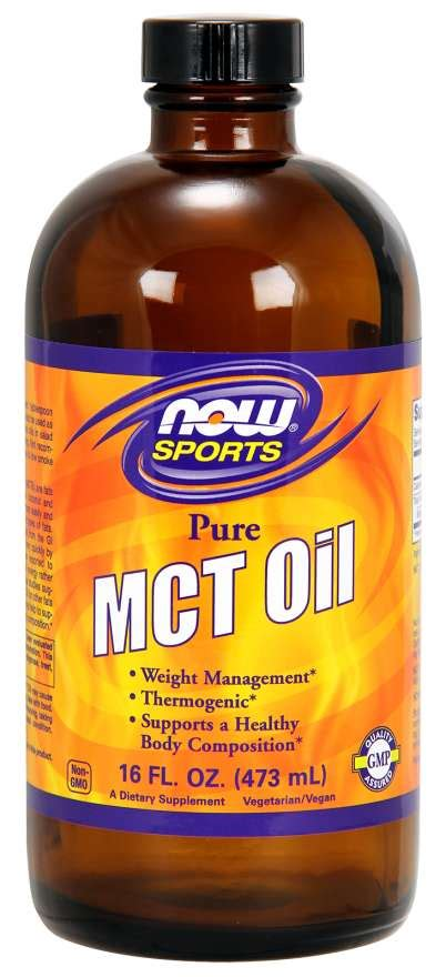 MCT Oil | MCT Oil Nutrition | NOW Foods