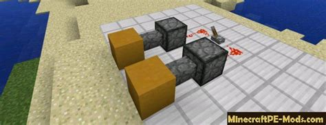 pocket piston redstone mod for minecraft pe 1 2 0 1 1