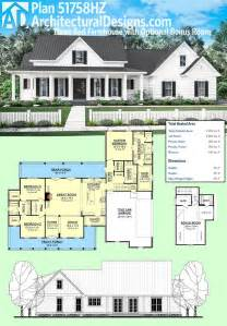 farmhouse building plans 81 best images about house plans on bonus rooms craftsman and craftsman style house