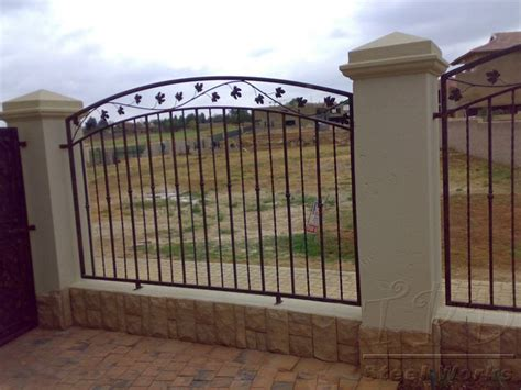 metal fence designs pictures tpd steel works fencing images
