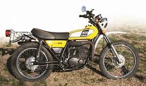 Retrospective  Yamaha Dt400 Enduro  1975