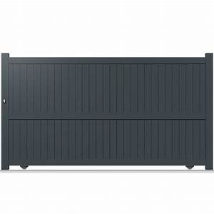 Portail Alu Battant 3m50 : portail alu 3m50 cheap portail alu ajour lames with ~ Dailycaller-alerts.com Idées de Décoration