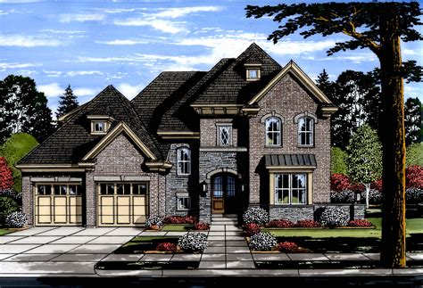 Luxury House Plan #169 1120: 4 Bedrm 3287 Sq Ft Home