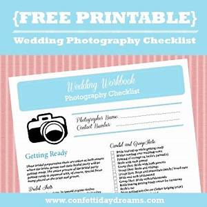 wedding photography checklist free printable With wedding photography checklist printable
