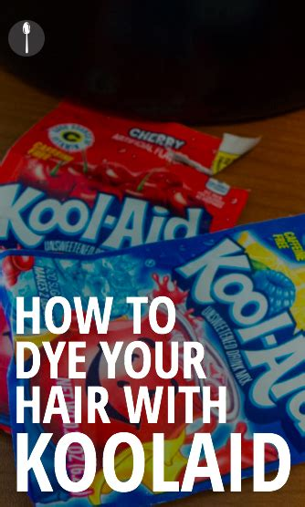 Kool Aid Hair Dye Recipe Hair Kool Aid Hair Dye