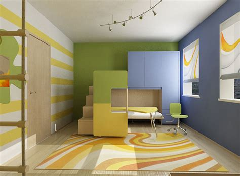 Cool Colorful Kids Room Ideas
