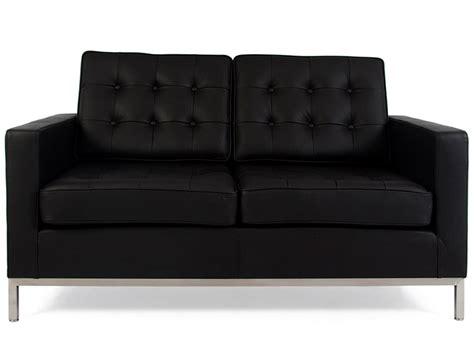 quelle densité pour un canapé lounge knoll 2 places noir
