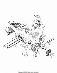 Troy Bilt Tb5518 41ay85ar966  41ay85ar966 Tb5518 Parts Diagram For Bar  U0026 Chain Assembly