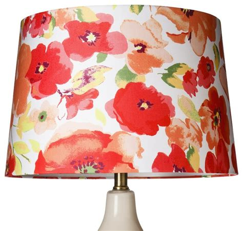 threshold floral l shade large contemporary l