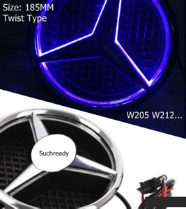 The current status of the logo is obsolete, which means the logo is not in use by the company anymore. For Mercedes Benz 2015-2018 Illuminated LED Light Front Grille Star Emblem Logo   eBay