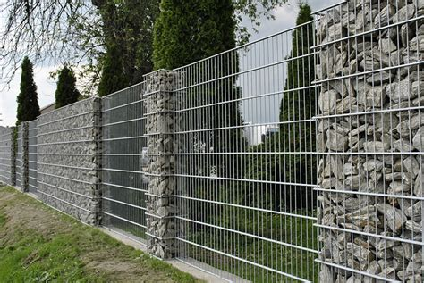 Zaun Aus Baustahlmatten by Gallerie Z 228 Une Ata Gab Gabionen