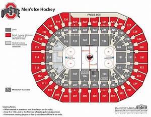 Ticketmaster Seating Chart Men S Ice Hockey Tickets Ohio State Buckeyes