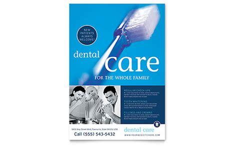 dentist office business card letterhead template word