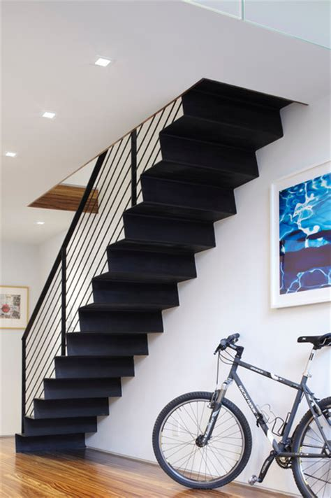 duplex house steps models meat packing duplex contemporary staircase new york by axis