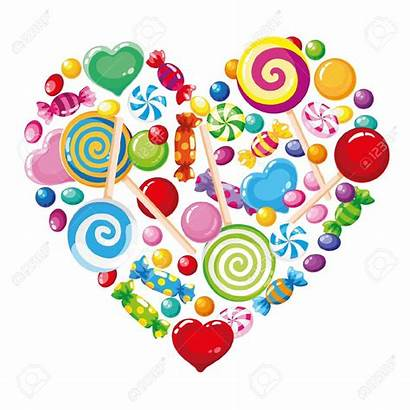 Candy Heart Clipart Clip Illustration Candyland Christmas