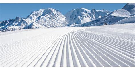 st gervais mont blanc hauteurs de neige et ouverture gervais mont blanc