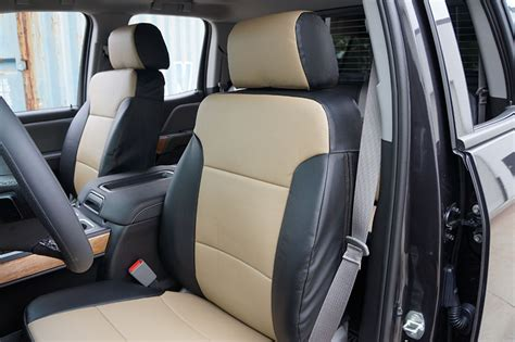 2017 Chevrolet Silverado 3500 Hd Seat Cover Leather Ebay