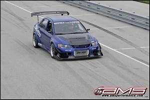 Mitsubishi Evo Ix Blue Demon By Ams