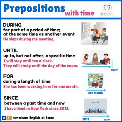 Prepositions With Time