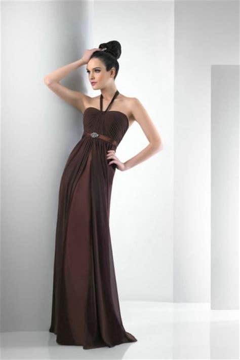 chic chocolate brown bridesmaid dress ideas weddingomania