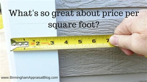 The Truth About Price Per Square Foot  Gary N Smith