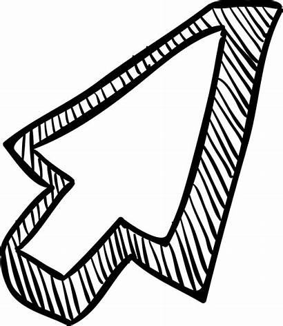 Arrow Pointer Sketch Icon Svg Onlinewebfonts Ppc