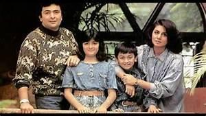 Rishi Kapoor Family Rare Pics || Rishi Neetu Unseen Photos ...