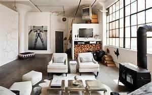 Loft De Ville New York Au Design Intrieur Inspir Par