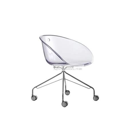 chaise de bureau transparente but chaise design a gliss et chaises design pedrali