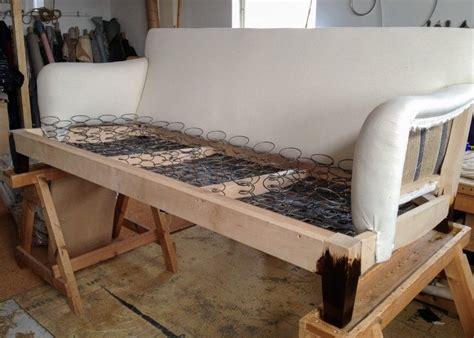 howard sofa process  making  traditional