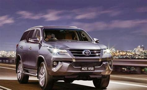 toyota fortuner  india review  car