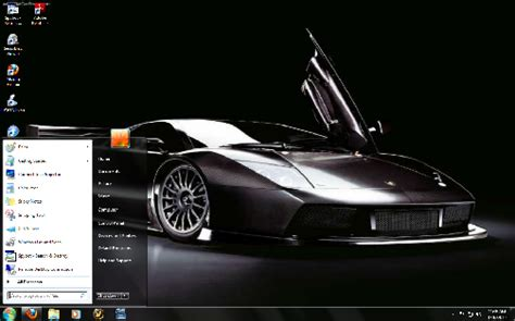 Cars View Classic Car Windows 7 Theme