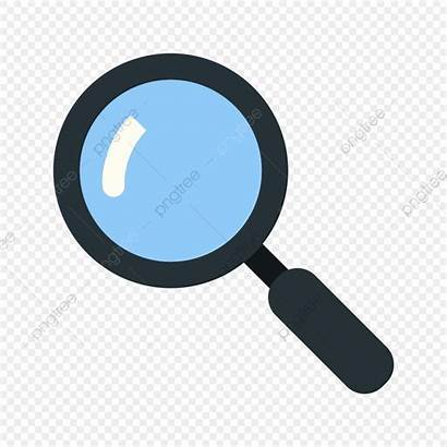 Icon Magnifying Vector Glass Magnifier Icons Lupa