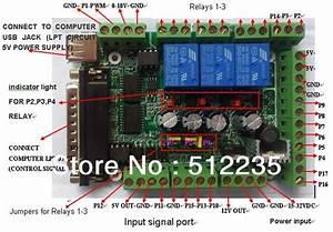 Interface Board Mach3 Interface Board Diy Cnc 6 Axis