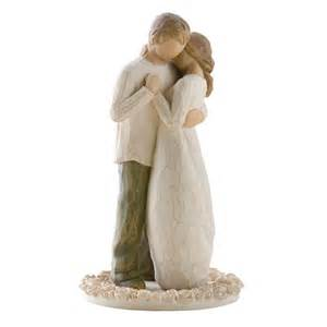 willow tree promise cake topper figurine 26189 hold dear