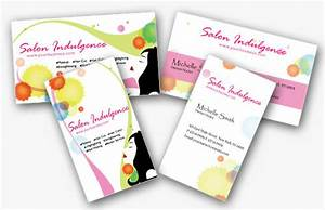 Pics For > Beauty Salon Business Cards Templates Free