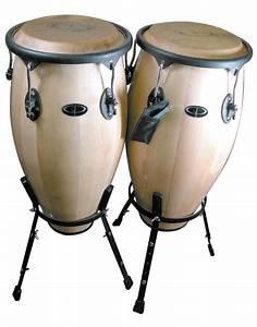 Buy Professional Wood Tunable Conga Set w/Stand | Music ...