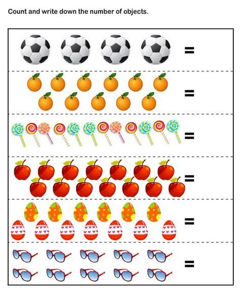 Counting Activities Worksheets For Kindergarten Homeshealthinfo